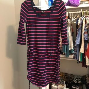 Banana Republic S striped dress